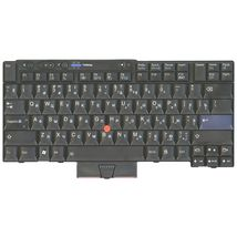 Клавиатура для ноутбука для ноутбука Lenovo ThinkPad (T400S, T410, T410I, X220, T400, T520, T420) с указателем (Point Stick) Black RU