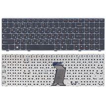 Клавиатура Lenovo IdeaPad (G500, G700), Black, (Gray Frame) RU