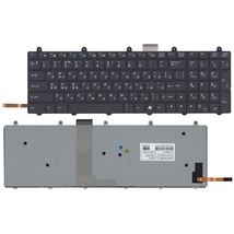 Клавиатура MSI (GE60, GE70) с подсветкой (Light), Black, (No Frame) RU
