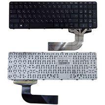 Клавиатура HP Pavilion (17-F, 15-P) Black, (No Frame) RU