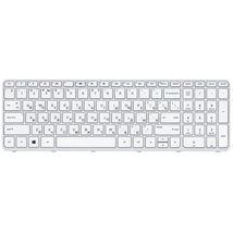 Клавиатура для ноутбука для ноутбука HP Pavilion 250 G3, 255 G2, 255 G3, Pavilion SleekBook 15-e, 15-e000, 15-e002er, 15-e002sr, 15-e003sr, 15-e004er, 15-d, 15-g, 15-g000, 15-n, 15-n000, 15-r, 15-r000, 15-s000, 15t-e, 15t-n, 15z-e, 15z-n White, (White Frame) RU