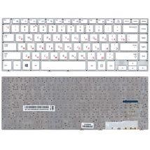 Клавиатура Samsung (470R4E, BA59-03680A) White, (No Frame), RU