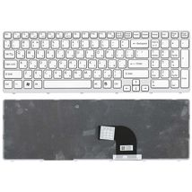 Клавиатура Sony Vaio (SVE15, SVE1511V1R) White, (White Frame) RU