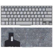 Клавиатура Sony Vaio (SVF14) Silver, (No Frame) RU