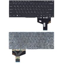Клавиатура Sony Vaio (SVF14) Black, (No Frame) RU