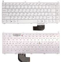 Клавиатура Sony Vaio (VGN-AR, VGN-FE) White, RU