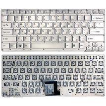 Клавиатура Sony Vaio (VPC-CA, VPCCA, VPC-SA, VPCSA) Silver, (No Frame) RU