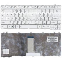 Клавиатура Toshiba Satellite (U500, U505) Portege (M900) White, RU