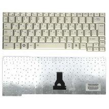 Клавиатура Toshiba Portege (R500, R502, R501, R510, R600, R601, A600 ,A602, A603, R603, A605)  Silver, RU (вертикальный энтер)