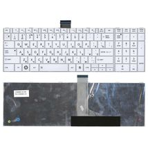 Клавиатура Toshiba Satellite (C850, C855, C870) White, RU