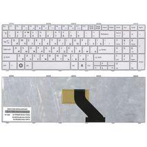 Клавиатура Fujitsu LifeBook (AH530, AH531, NH751) White, RU