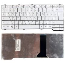 Клавиатура для ноутбука Fujitsu Amilo SA3650, Esprimo V6505, V6515, V6535, V6545, LI3710, Pa3575, PI3525, PA3553, PA3515  White, RU (вертикальный энтер)