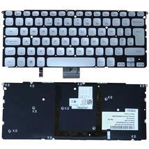Клавиатура Dell XPS (15Z) с подсветкой (Light), Silver, (No Frame) RU/EN