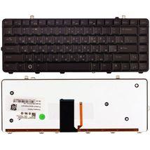 Клавиатура Dell Studio (15, 1555, 1557, 1558) с подсветкой (Light), Black, RU