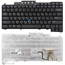 Клавиатура Dell Latitude (D620, D630, D820, D830) с указателем (Point Stick), Black, RU