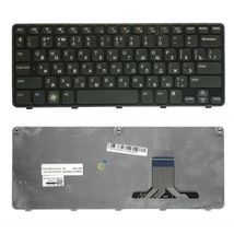 Клавиатура Dell Inspiron Mini (1090) Black, (Black Frame) RU