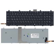 Клавиатура Clevo (P170EM) с подсветкой (Light), Black, RU