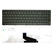 Клавиатура Asus (X53S, X53U) Black, (Black Frame), RU