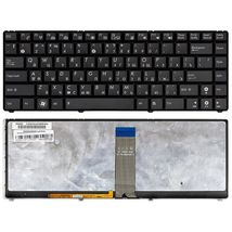 Клавиатура Asus (UL20, UL20A, UL20FT) с подсветкой (Light), Black, (Black Frame) RU