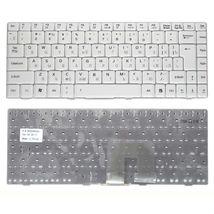 Клавиатура Asus (U3, F6, F9) White, RU (вертикальный энтер)