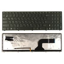 Клавиатура Asus (K52) с подсветкой (Light), Black, (Black Frame) RU