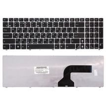 Клавиатура Asus (K52) Black, (Silver Frame) RU