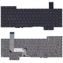 Клавиатура Asus (G751) с подсветкой (Light), Black, (No Frame) RU