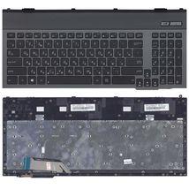 Клавиатура Asus (G55) с подсветкой (Light), Black, (Black Frame) RU