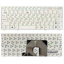 Клавиатура для ноутбука Asus EEE PC (90HA, 900SD, T91) White, RU