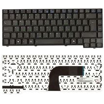 Клавиатура для ноутбука Asus EEE PC (A3A, A3E, A3H, A3L, A3G, A3V, A4, A7, F5R, F5L, M9, Z8, F5SV F5 G2K G2P G2PB G2PC G2S G2SG G2SV X50N X50R X50RL X50Z X50VL X51C X51H X59 X59L) Black, RU