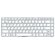 Клавиатура для ноутбука для ноутбука Asus EEE PC 1201, 1215, 1225, U20, VX6 Eee PC Lamborghini White, (No Frame) RU