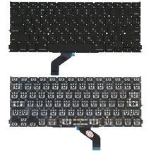 Клавиатура Apple MacBook Pro (A1425) с подсветкой (Light) Black, (No Frame), RU (горизонтальный энтер)