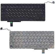 Клавиатура Apple MacBook Pro (A1297) Black, (No Frame), RU (вертикальный энтер)