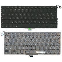 Клавиатура для ноутбука Apple MacBook Air A1304, A1237 с подсветкой (Light) Black, (No Frame), RU (горизонтальный энтер)