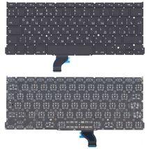 """Клавиатура Apple MacBook Pro 13"""" Retina (A1502) с подсветкой (Light) Black, (Original), (No Frame), RU (вертикальный энтер)"""