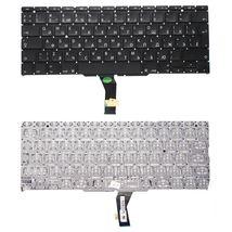 Клавиатура Apple MacBook Air 2011+ (A1370) с подсветкой (Light) Black, (Original), (No Frame), RU (вертикальный энтер)