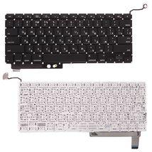Клавиатура Apple MacBook Pro (A1286) с подсветкой (Light), Black, (No Frame), с (SD), RU (горизонтальный энтер)