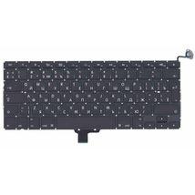 Клавиатура Apple MacBook 2011+ (A1278) Black, (Original), (No Frame), RU (вертикальный энтер)