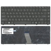 Клавиатура Acer eMachines (D725) Black, длинный шлейф (Long Trail), RU (версия Packpard Bell)