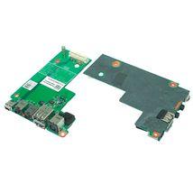 Плата питания Dell Latitude E5500 на плате с USB и Audio разъемами