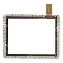 Тачскрин (Сенсорное стекло) для планшета DNS AirTab M971w, 974w, 975w черный