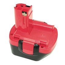 Аккумулятор для шуруповерта Bosch 2607335262 EXACT 12 2.0Ah 12V красный Ni-Cd