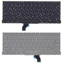 """Клавиатура Apple MacBook Pro 13"""" Retina (A1502) с подсветкой (Light) Black, (No Frame), RU (горизонтальный энтер)"""