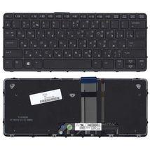 Клавиатура HP Pro X2 612 G1 с подсветкой (Light), Black, (Black Frame), RU