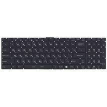 Клавиатура для ноутбука для ноутбука MSI (GT72) с подсветкой (Light), Black, (No Frame) RU