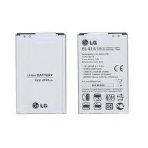 Оригинальная аккумуляторная батарея для смартфона LG BL-41A1H Optimus F60 3.8V Silver 2100mAh 8.0Wh