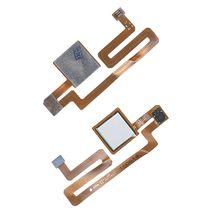 Шлейф со сканером отпечатка пальца для Xiaomi Mi Max серебристый
