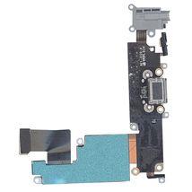 Шлейф разъема питания с аудио-разъемом Apple iPhone 6 Plus черный