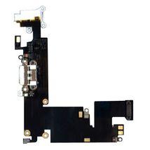 Шлейф разъема питания с аудио-разъемом Apple iPhone 6 Plus белый