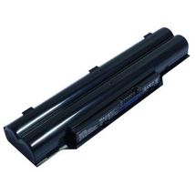 Аккумуляторная батарея для ноутбука Fujitsu FMVNBP213 Lifebook A532 10.8V Black 5200mAh OEM